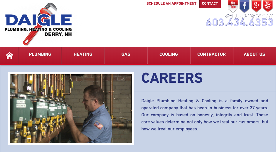 Daigle Plumbing, Heating, & Cooling